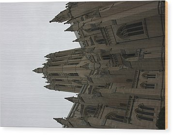 Washington National Cathedral - Washington Dc - 011368 Wood Print by DC Photographer