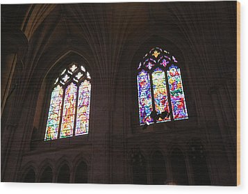 Washington National Cathedral - Washington Dc - 011394 Wood Print by DC Photographer