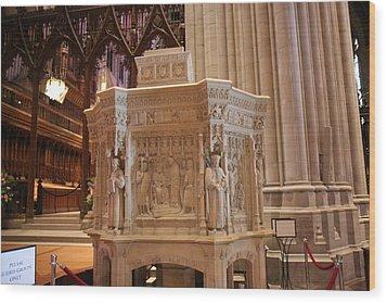 Washington National Cathedral - Washington Dc - 011395 Wood Print by DC Photographer