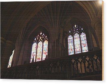 Washington National Cathedral - Washington Dc - 011399 Wood Print by DC Photographer