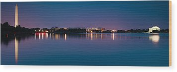 Wood Print featuring the photograph Washington Skyline by Sebastian Musial