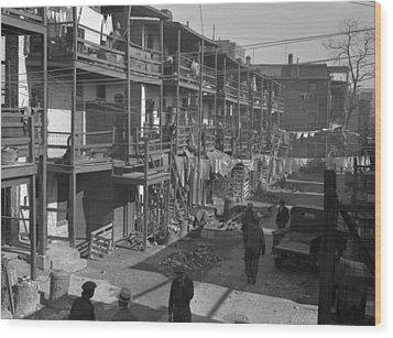 Washington Slum, 1935 Wood Print by Granger
