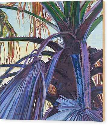 Washingtonia Wood Print
