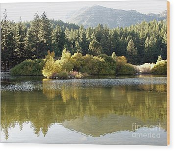 Wood Print featuring the photograph Washoe Valley by Carol Sweetwood