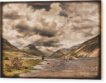 Wast Water Lake District England Wood Print by Colin and Linda McKie
