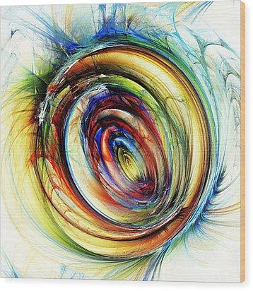 Watchful Eye Wood Print by Anastasiya Malakhova