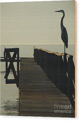 Watchful Eyes Wood Print by Joe Jake Pratt
