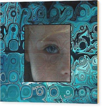 Watching Wood Print by Ellen Henneke