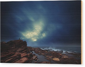 Wood Print featuring the photograph Water Cloud by Afrison Ma