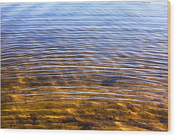 Water Concerto 14 Wood Print