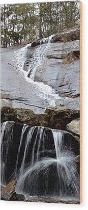 Water Faucet  Wood Print