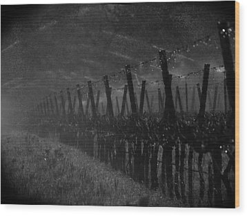 Water Into Wine Wood Print by Bill Gallagher