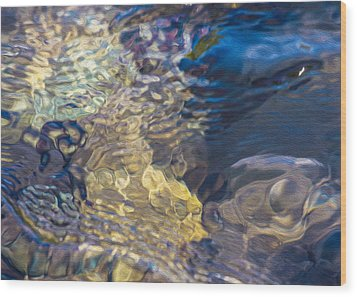 Water Monster Wood Print by Omaste Witkowski