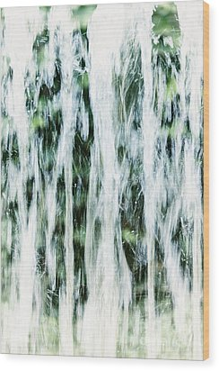 Water Spray Wood Print by Margie Hurwich
