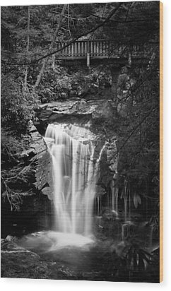 Wood Print featuring the photograph Water Under The Bridge by Tyson and Kathy Smith