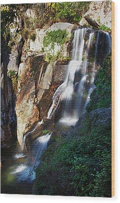 Waterfall II Wood Print by Marco Oliveira