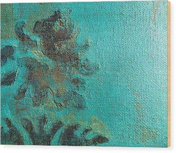 Waterlily Wood Print