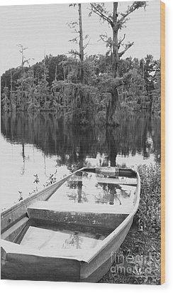 Waterlogged Wood Print by Scott Pellegrin
