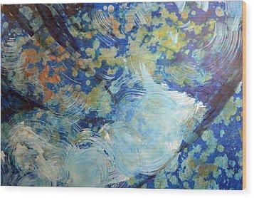 Water's Edge Flow Wood Print