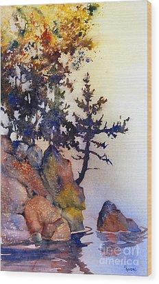 Water's Edge Wood Print