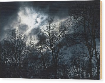 Wood Print featuring the photograph Waters Of Verona Lake by Kellice Swaggerty