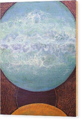 Waterworld Wood Print