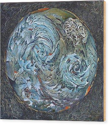 Waterworld Wood Print by Linda Carmel