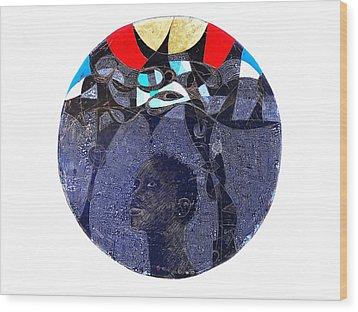 Watsup Wood Print by Ronex Ahimbisibwe