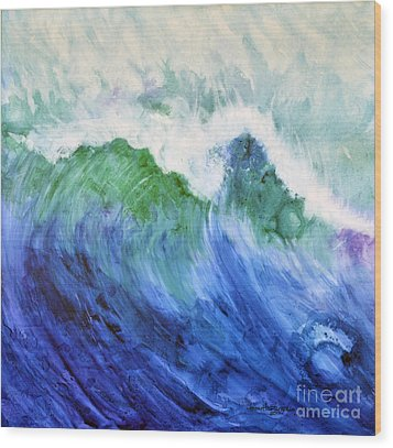 Wave Dream Wood Print