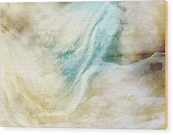 Wave Wood Print by Gun Legler