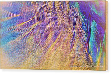 Wave Wood Print by JCYoung MacroXscape