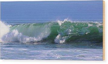 Wave Study 97 Wood Print by Viktor Savchenko