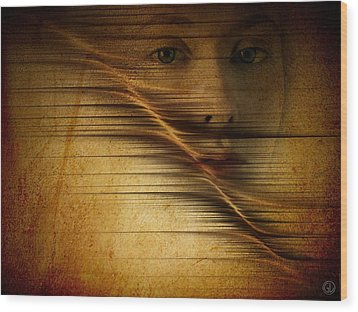 Waves Of Change Wood Print by Gun Legler