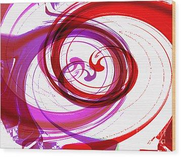 Circling Grace 3 Wood Print