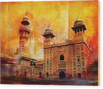 Wazir Khan Mosque Wood Print by Catf