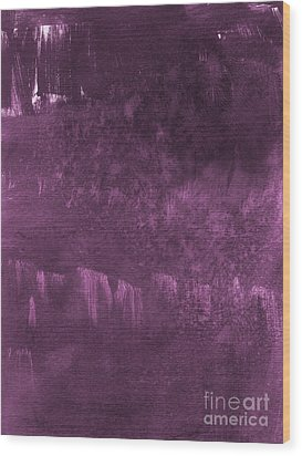 We Are Royal Wood Print by Linda Woods