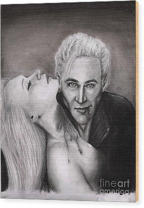 James Wood Print by Rosalinda Markle