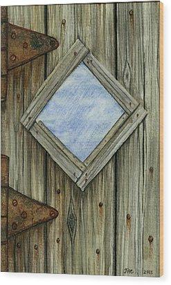 Weathered #2 Wood Print