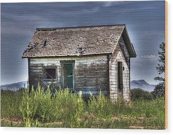 Weathered And Worn Well  Wood Print by Saija  Lehtonen