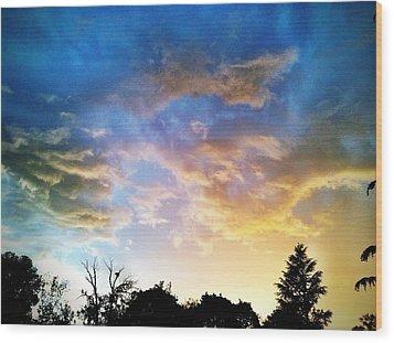 Weathering Sky Wood Print