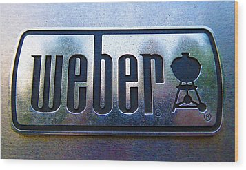 Weber Wood Print