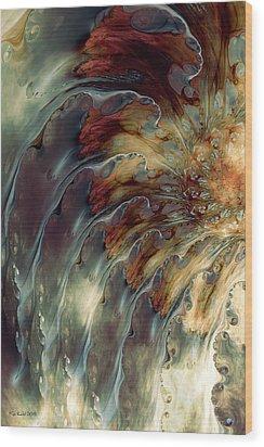 Weep Wood Print by Kim Redd