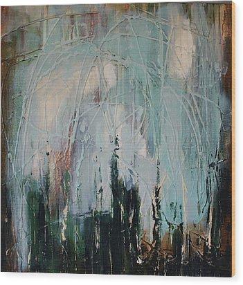 Weep Wood Print by Lauren Petit