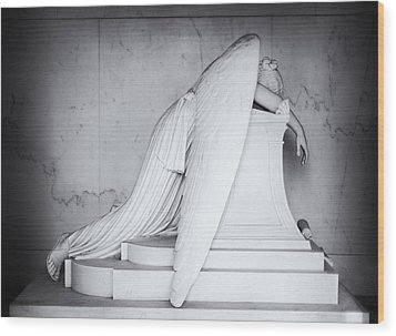 Weeping Angel 1 Wood Print by John Gusky