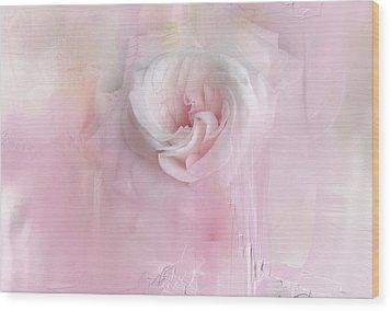 Weeping Rose Wood Print
