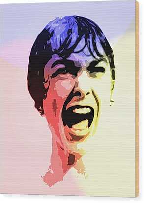 Welcome To Bates Motel Wood Print by Steve K