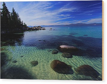 Wood Print featuring the photograph Welcome To Bliss Beach by Sean Sarsfield