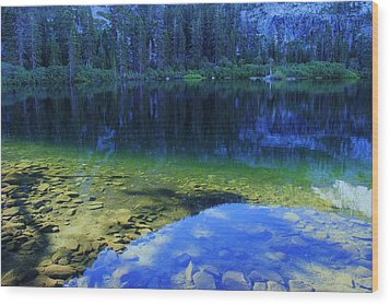 Wood Print featuring the photograph Welcome To Eagle Lake by Sean Sarsfield