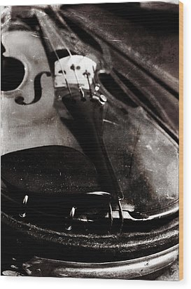 Wood Print featuring the photograph Well Used Instrument by Scott Kingery
