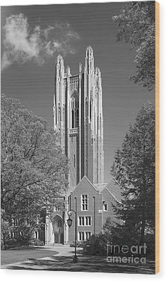 Wellesley College Green Hall Wood Print by University Icons